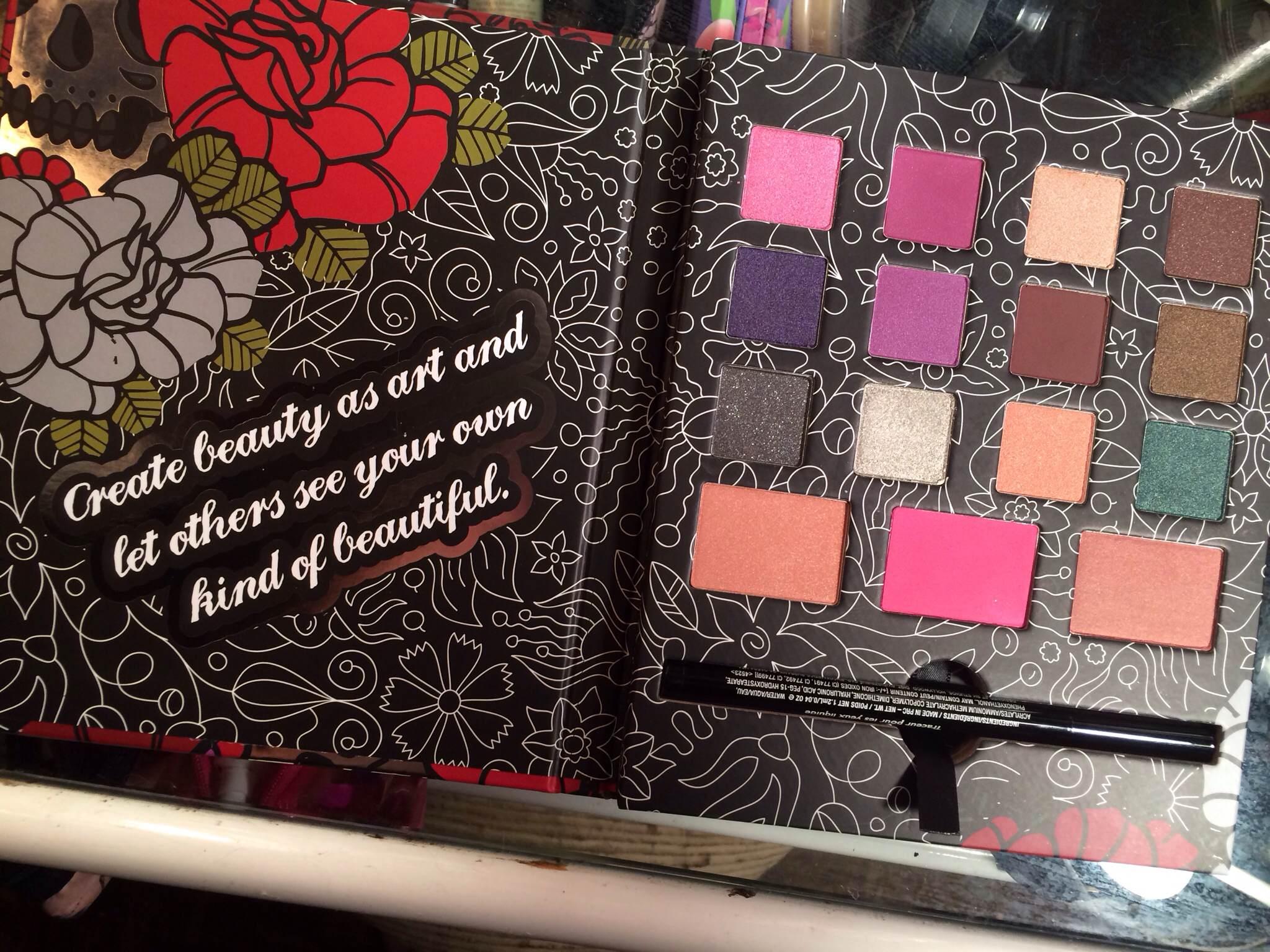 Dark Rose Eyeshadow And Blush Palette by BH Cosmetics #15