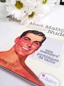 meet matte nude the balm