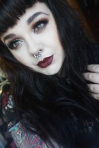 makeup monsters blackened heart