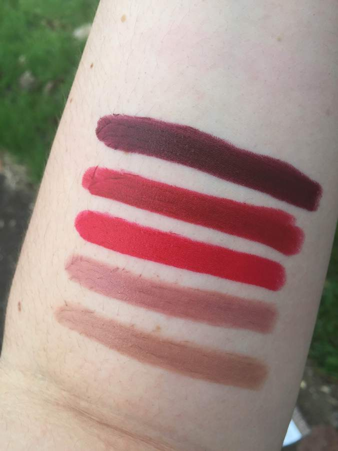 nyx high voltgage lipsticks